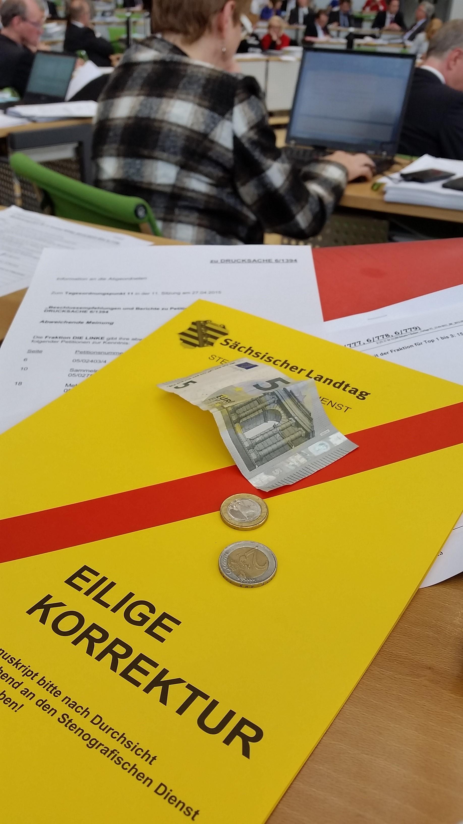 Nagel und Böhme fordern Transparenz zu Einkommen und Ausgaben von Abgeordneten