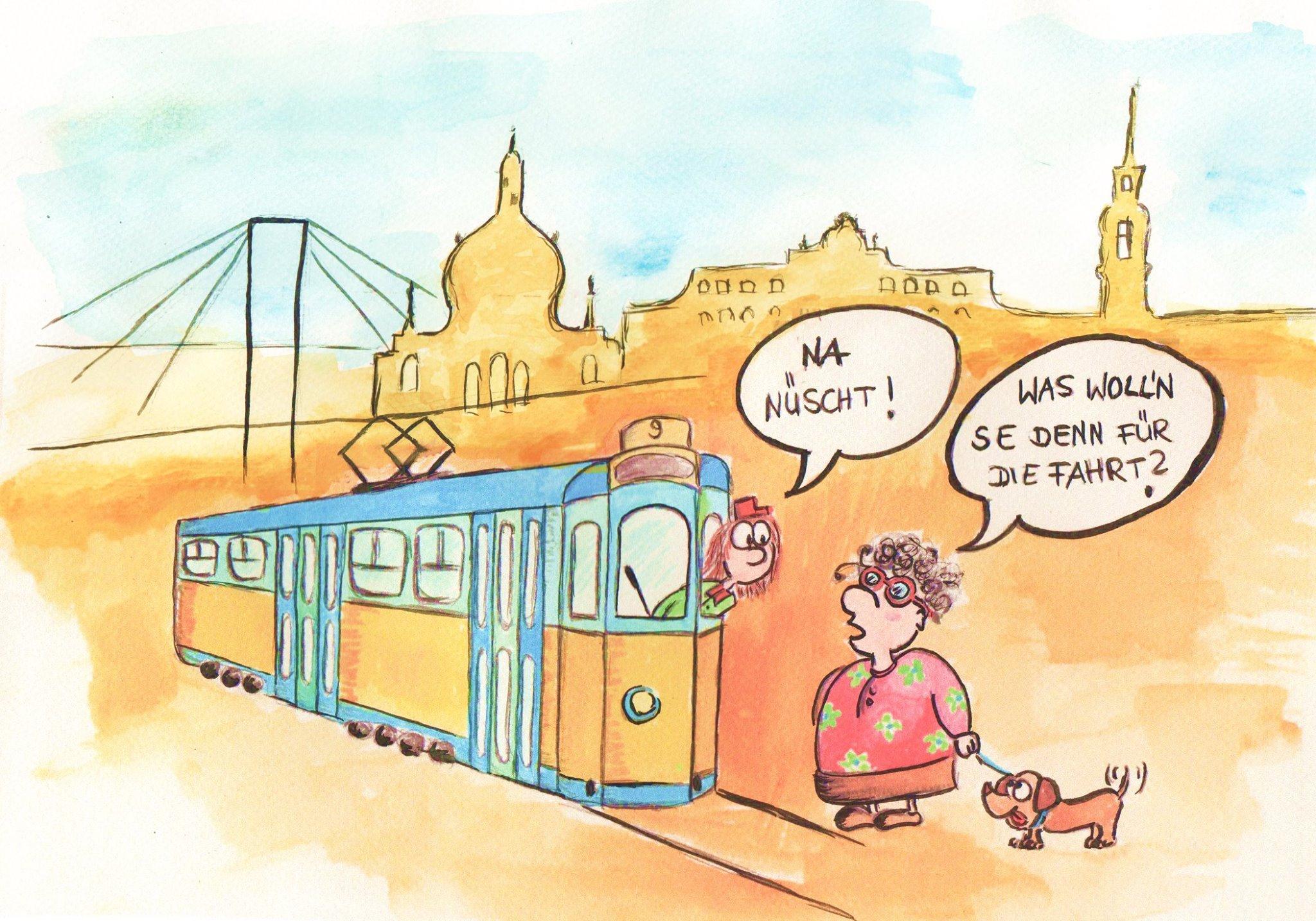 Freifahrt in Dresden