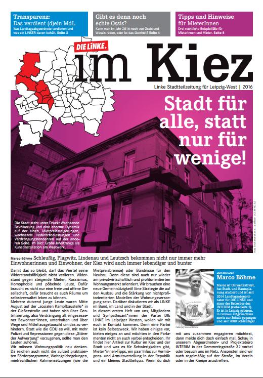 Wahlkreiszeitung Ausgabe 1