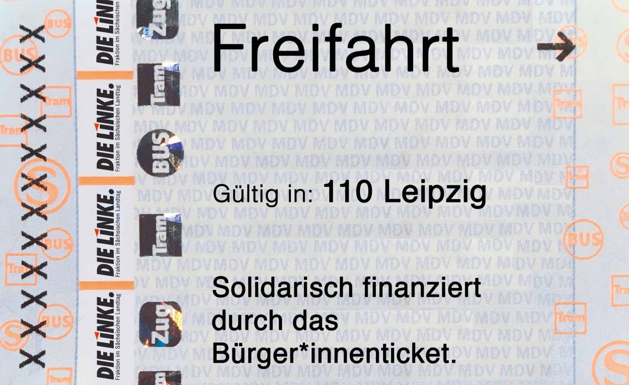 Freifahrt in Leipzig