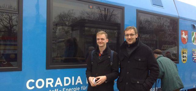 Böhme nach Premierenfahrt mit Wasserstoffzug: Emissionsfreie Mobilität im Nahverkehr ist möglich! Sachsen muss das fördern!