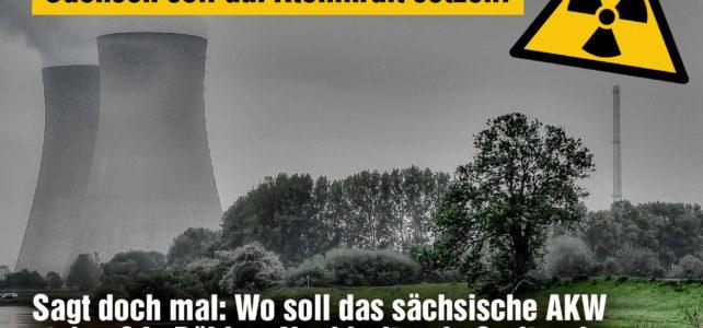 Wo in Sachsen wollen Atomkraft-Fans neues AKW bauen? Warnung vor gefährlichem Rückschritt in der Energiepolitik