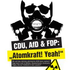 Pro-Atom-Lobby greift in Sachsen nach der Macht – die Saat des von CDU und FDP gepflegten Wahnsinns geht auf