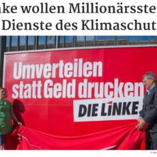 Mit Millionärssteuer den Klimaschutz sozialverträglich machen – Initiative aus Sachsen!